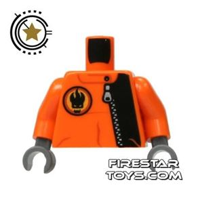 LEGO Mini Figure Torso - Agents - Villain