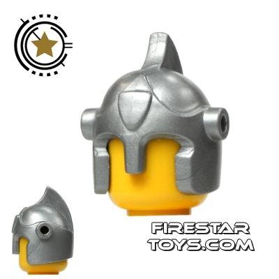 BrickForge - Battle Helmet - Silver