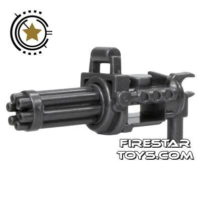 SI-DAN - Minigun with spinning barrel - Iron Black