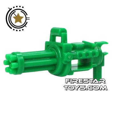 SI-DAN - Minigun with spinning barrel - Green Army