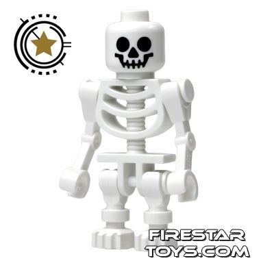 LEGO Mini Figure - Skeleton - Bent Arms