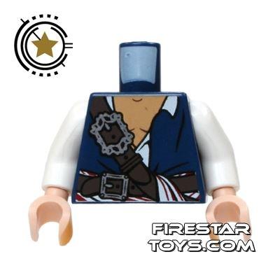 LEGO Mini Figure Torso - Pirate Shirt