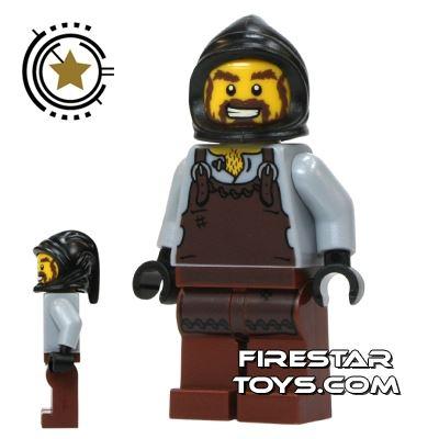 LEGO Castle - Blacksmith - Brown Apron