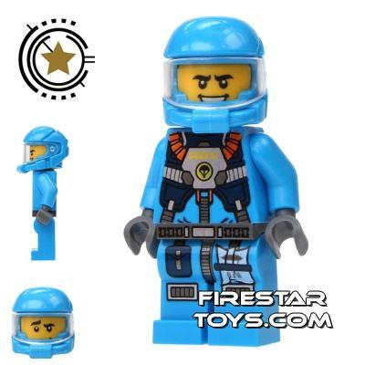 LEGO Alien Conquest Mini Figure - Alien Defense Unit Soldier 4