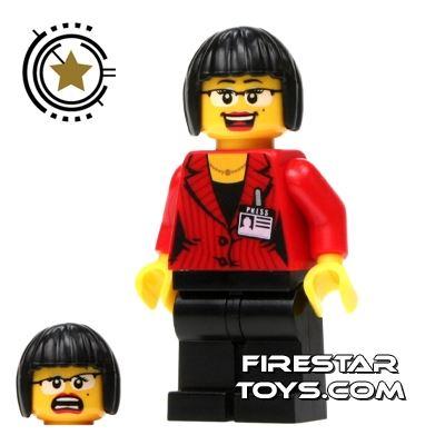 LEGO Alien Conquest Mini Figure - Reporter