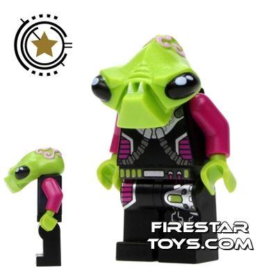 LEGO Alien Conquest Mini Figure - Alien Invader Pilot