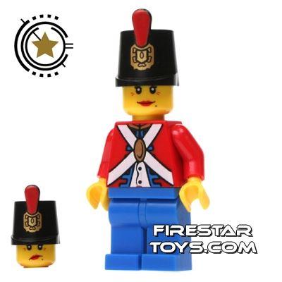 LEGO Pirate Mini Figure - Imperial Soldier II - Female
