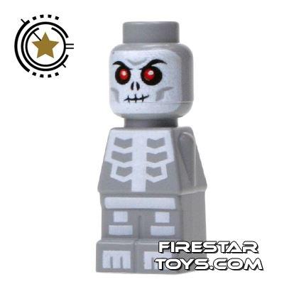 LEGO Games Microfig - Ninjago Skeleton - Light Gray