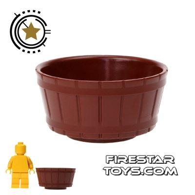 LEGO - Half Barrel - Reddish Brown