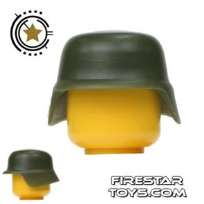 SI-DAN - German M35 Helmet - Tank Green