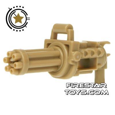 SI-DAN - Minigun with spinning barrel - Dark Tan