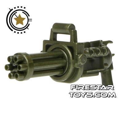 SI-DAN - Minigun with spinning barrel - Iron Green