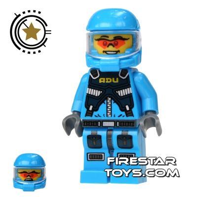 LEGO Alien Conquest Mini Figure - Alien Defense Unit Soldier 5