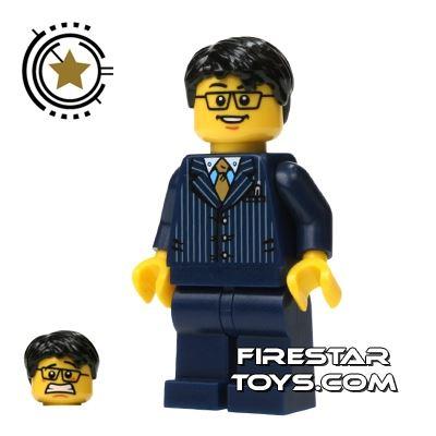 LEGO Alien Conquest Mini Figure - Businessman - Pinstriped Suit