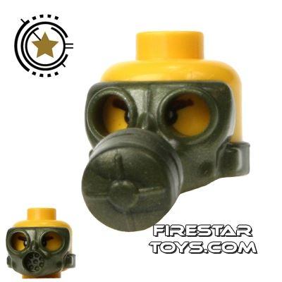 SI-DAN - Gas Mask Type 1 - Iron Green