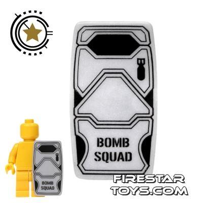 BrickForge - Military Shield - Truesilver - Bomb Squad