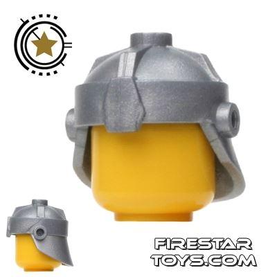 BrickForge - Dwarven Helmet - Silver