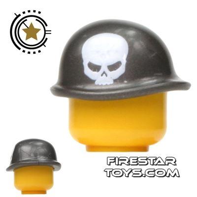 BrickForge - Soldier Helmet - Steel - Skullz