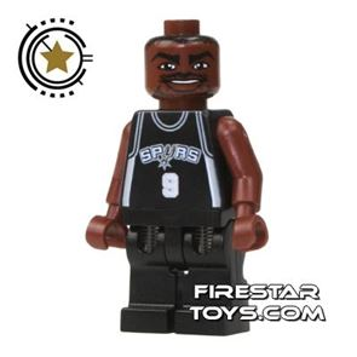 LEGO Basketball Player - San Antonio Spurs