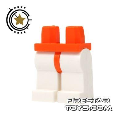 LEGO Minifigure Legs - Hips ORANGE - Legs