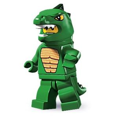 LEGO Minifigures - Lizard Man