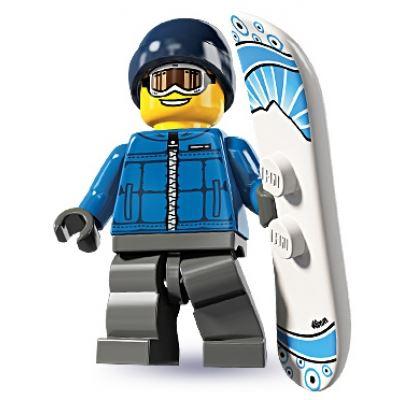 LEGO Minifigures - Snowboarder Guy