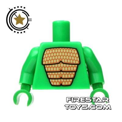 LEGO Mini Figure Torso - Godzilla Lizard Suit
