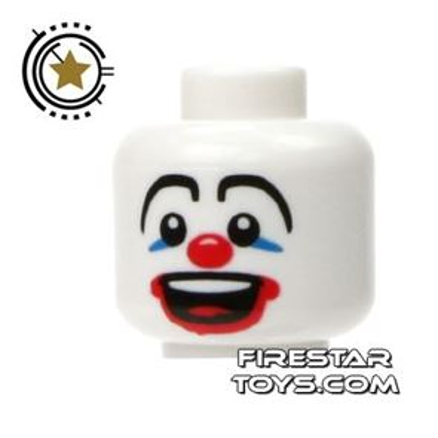 LEGO Mini Figure Heads - Clown