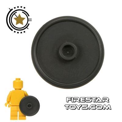 LEGO - Gladiator Shield - Pearl Dark Gray