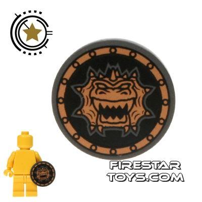 LEGO - Black and Gold Dragon Shield