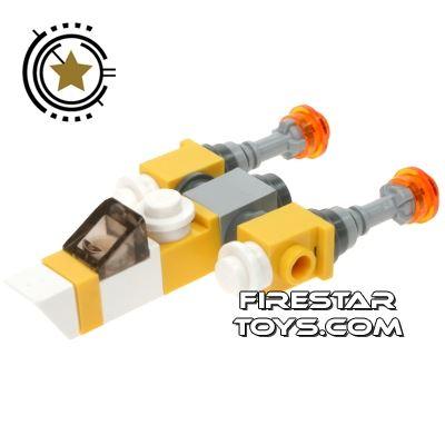 Custom Mini Set - Star Wars - Anakin's Y-wing Starfighter