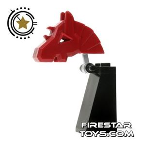 LEGO Castle - Knight Chess Piece - Red