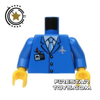 LEGO Mini Figure Torso - Pilot