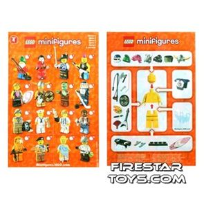 LEGO - Minifigures Series 4 Collectable Leaflet