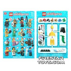 LEGO - Minifigures Series 5 Collectable Leaflet