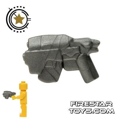 BrickWarriors - Head Hunter Pistol - Steel