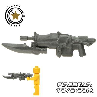 BrickWarriors - Impaler Assault Rifle - Steel