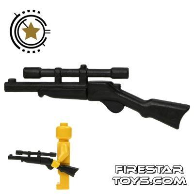 BrickWarriors - Buffalo Rifle - Black