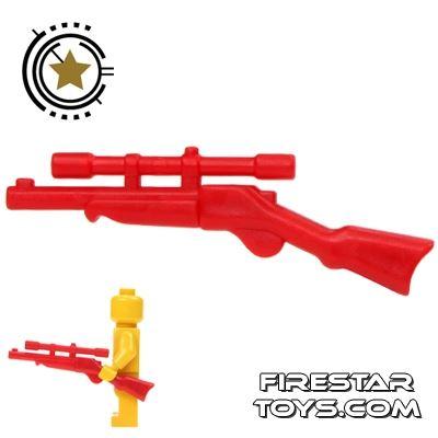 BrickWarriors - Buffalo Rifle - Red