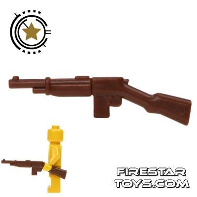BrickWarriors - Gangster Rifle - Brown