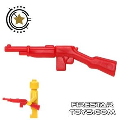 BrickWarriors - Gangster Rifle - Red