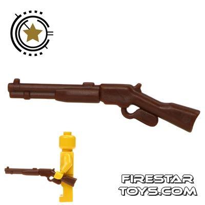 BrickWarriors - Repeater Rifle - Brown