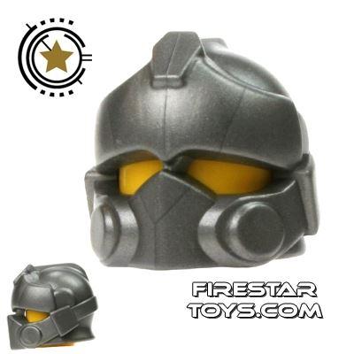 BrickWarriors - Resistance Trooper Helmet - Steel
