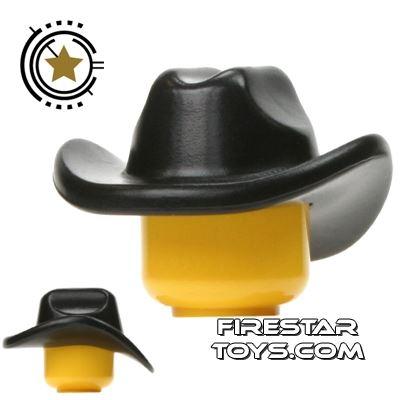 BrickWarriors - Cowboy Hat - Black