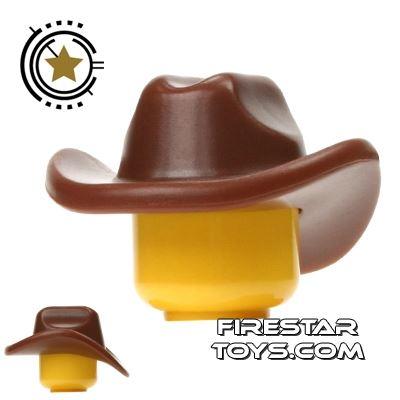 BrickWarriors - Cowboy Hat - Brown