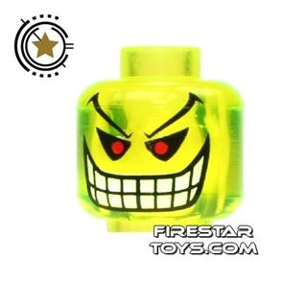 LEGO Mini Figure Heads - Batman - Jokers Bomb
