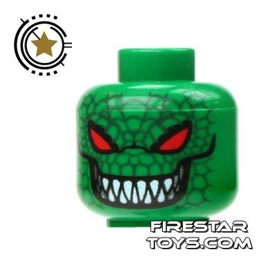 LEGO Mini Figure Heads - Batman - Killer Croc