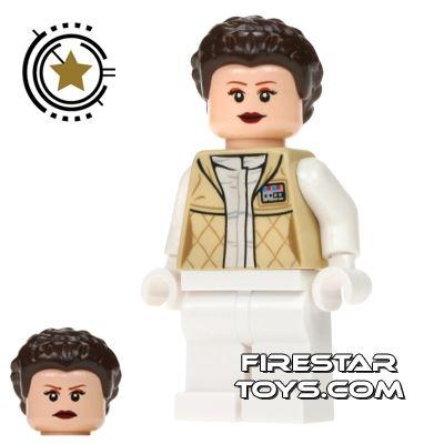 LEGO Star Wars Mini Figure - Princess Leia Hoth Outfit