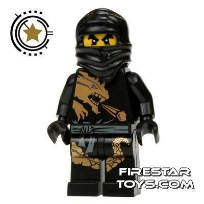 LEGO Ninjago Mini Figure - Cole - Dragon Suit