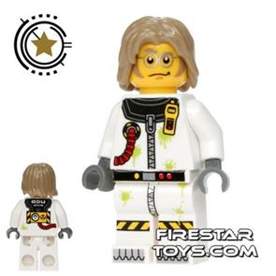 LEGO Alien Conquest Mini Figure - Toxic Cleanup Scientist